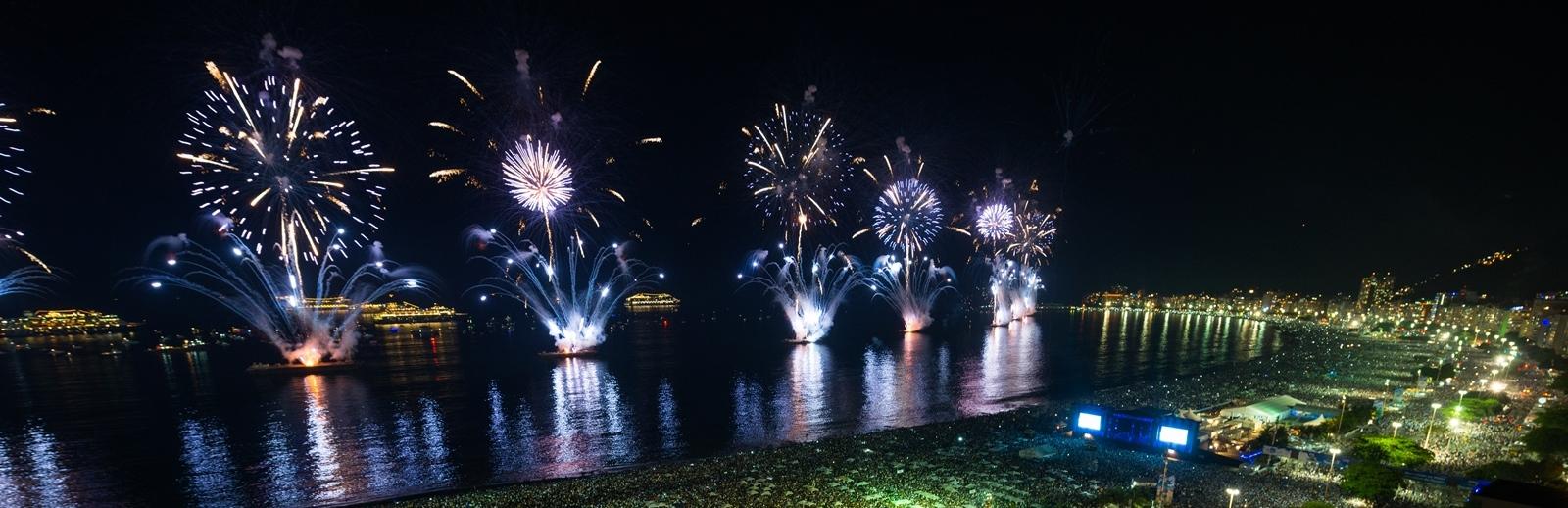 Virada de ano em Copacabana